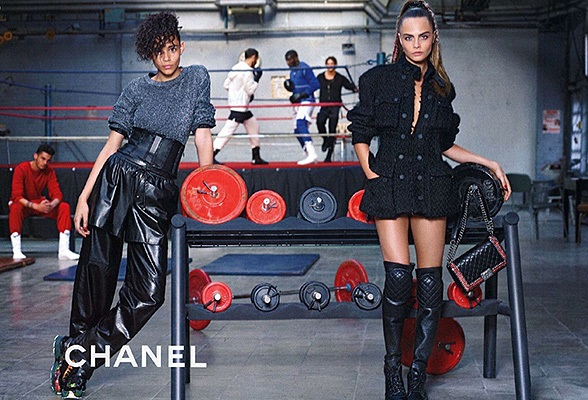Chanel і Кара Делевінь