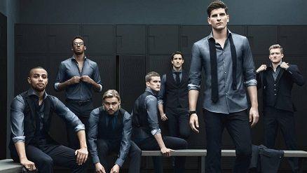 Збірна Німеччини з футболу в костюмах Hugo Boss, саме яскраве фото.