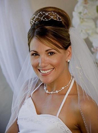 Весільні зачіски - фото самих красивих