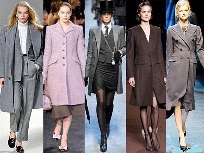 Модні пальта на осінь 2014 року.