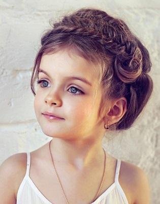Дівчаткам фото різноманітних зачіфсок