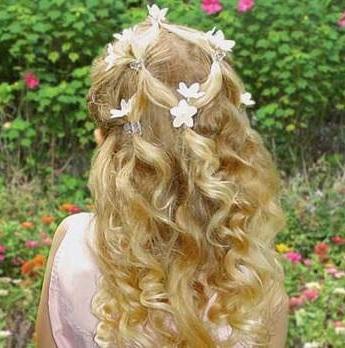 Які зачіски довподоби малим дівчатам?