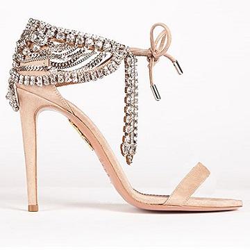 Фото колекції взуття Aquazzura на високих шпильках.