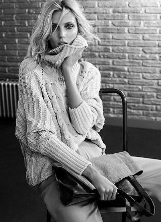 Аня Рубик для нової рекламної кампанії Massimo Dutti
