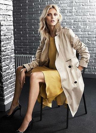 Аня Рубик в новій рекламній кампанії Massimo Dutti.