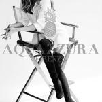 Фото колекції взуття Олівії Палермо, для Aquazurra