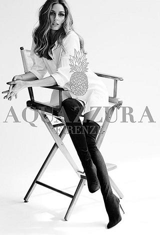 Фото, колекція взуття Олівії Палермо - Aquazurra