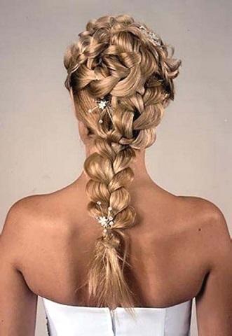 Зачіски в українському стилі - фото, плетіння на довгі коси.