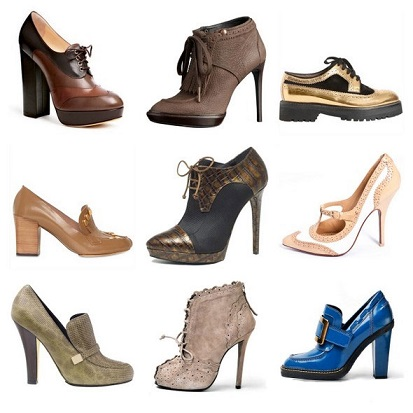 Модне взуття 2014 з каблуком - фото