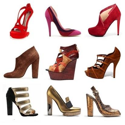 Модне взуття 2014 - туфлі на осінь.