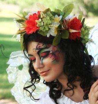 Зачіски в українському стилі на фото.