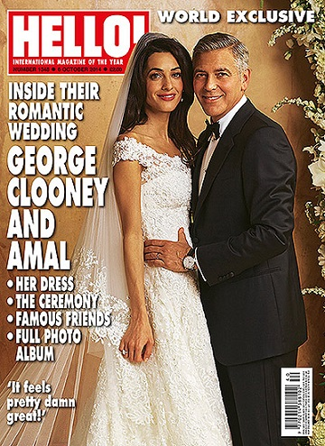 Весільна сукня Амаль Аламуддін увійшла до колекції Oscar De La Renta - фото.