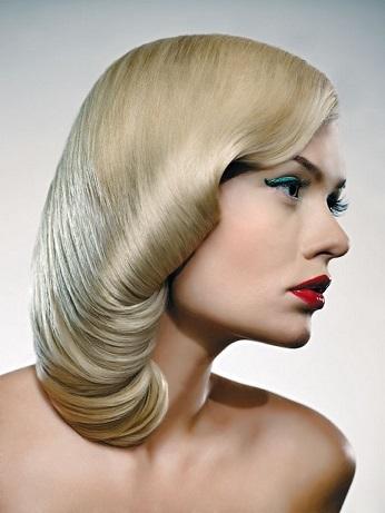 Красиві зачіски на середнє волосся.