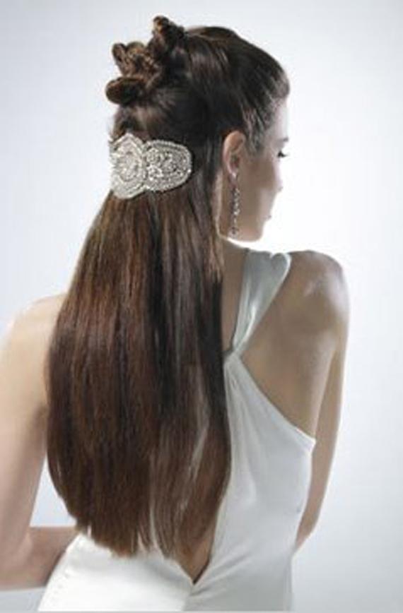 Створюємо зачіску на довгому волоссі - фото.