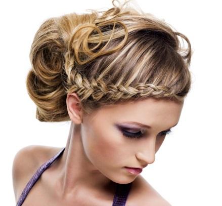 Фото красивих зачісок.