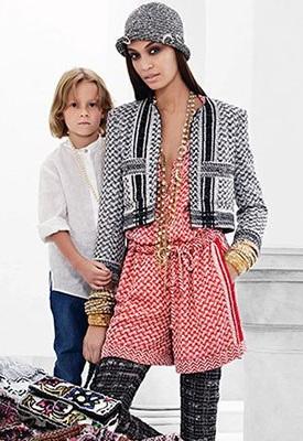 Джоан Смоллс і Хадсон Кроніг представляють круїзну колекцію Chanel