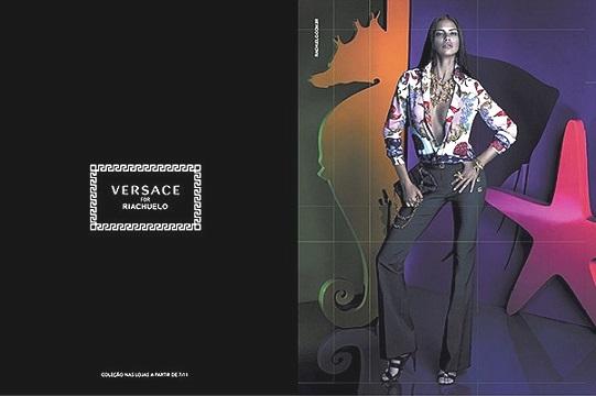 Адріана Ліма запрошена рекламувати кампанію Versace для Riachuelo