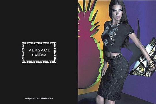 Адріана Ліма в рекламі Versace для Riachuelo