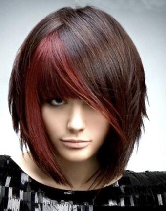 Фотокартки зачісок в гарному стилі для середнього волосся