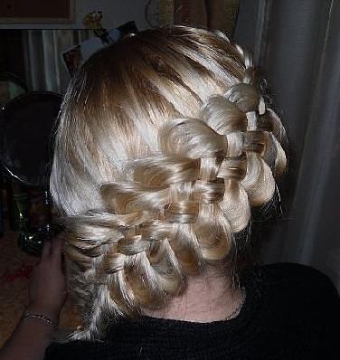 Підбірка фото зачісок - колосок.