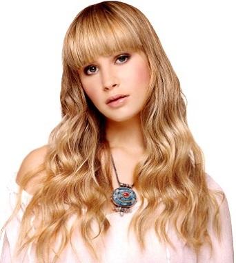 Стильна зачіска для довгого волосся