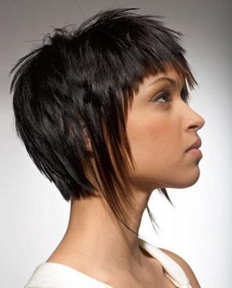 Створюємо стильну зачіску для короткого волосся по фото.