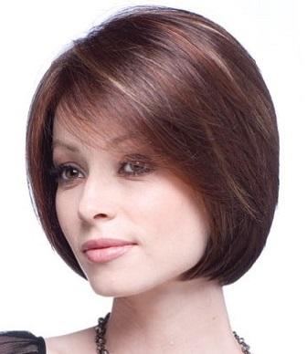Стильна зачіска боб для короткого волосся - фото.