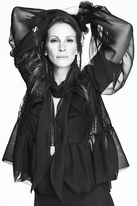 Джулія Робертс рекламує Givenchy.