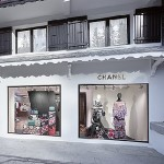 Творіння Карла Лагерфельда в дизайні ефемерного бутіка Chanel у Куршевелі
