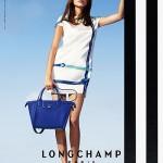Алекса Чанг у весняній рекламній кампанії Longchamp 2015 року