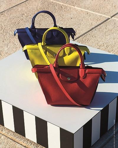 Колекція сумок від Longchamp.