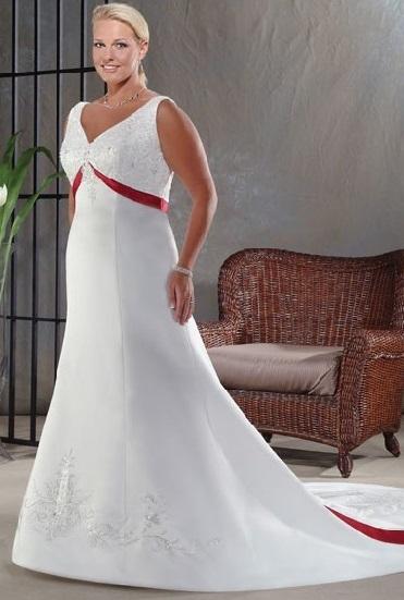 весільні сукні для повних дівчат на фото