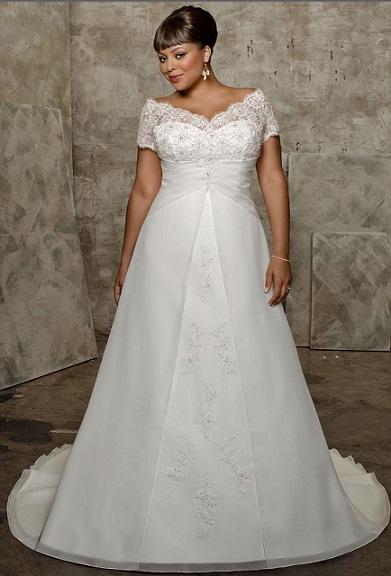 2952c8fa5eae2d Весільні сукні для повних | Нова мода, краса і здоров'я!