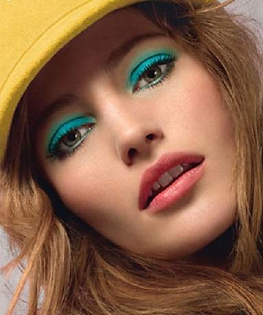Красивий макіяж на літо - приклади фото (зображення)