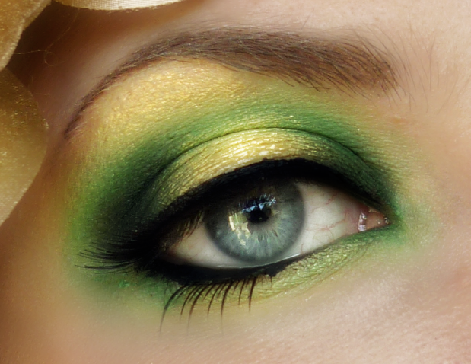 Фото зеленого макіяжу