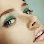 Зелений макіяж