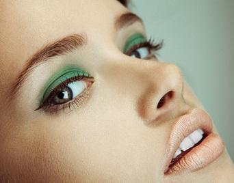 Зелений макіяж - фото
