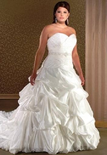 Весільні сукні для повних