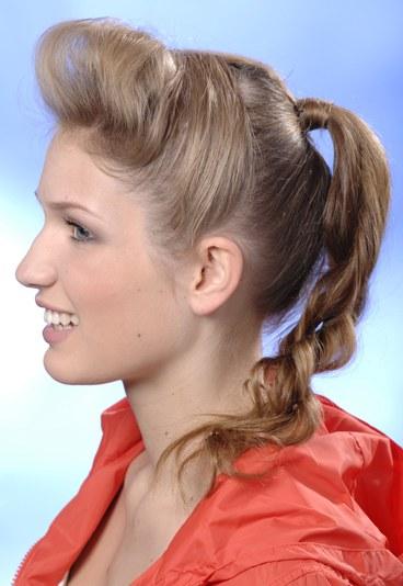 Прості зачіски для середнього волосся.