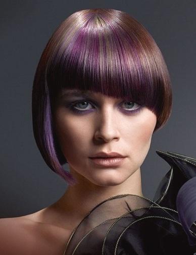 Волосся середньої довжини та сучасні зачіски, наприклад на фото