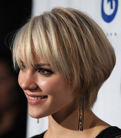 Сучасні зачіски для короткого волосся.