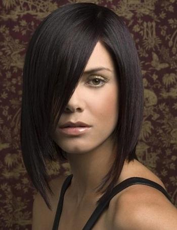 Сучасна зачіска підійде і для довгого волосся