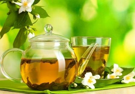 Зелений чай при дієті.