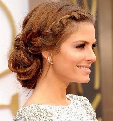 Зачіски з середнім волоссям - фото.