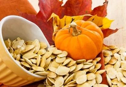 Гарбузове насіння допомагає позбутися від глистів, як дітям, так і дорослим.