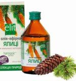 Олія ялиці для лікування нежиті