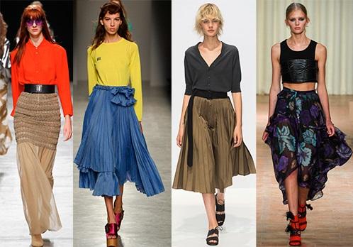 Довгострокові модні тенденції та короткострокові тренди.