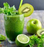 Зелені коктейлі для здоров'я і краси.